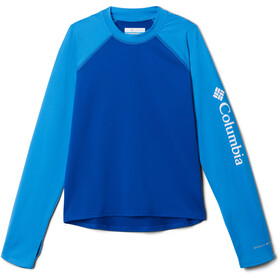 Columbia Sandy Shores Long Sleeve Sunguard Shirt Kids azul/azure blue